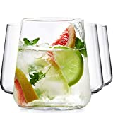 BeEco Wassergläser | Trinkglas | Elegant & Praktisch | Tolle Geschenkidee | Umweltfreundlich | 4er Set | mit Korkplatten | Spülmaschinengeeignet…