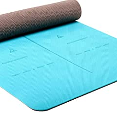 New Eco Friendly Material – More expensive but worth it. TPE is the latest technological improvement to the traditional yoga mats. No latex, no PVC, or any heavy metal. Our mats are made of SGS certified TPE material which is non-slip, odor-less and ...
