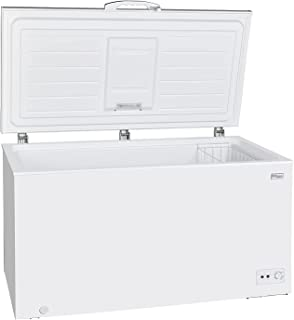 Super General Chest-Freezer 550 Liter Gross Volume, SGF544MN1, White, Rectangular Deep-Freezer with Sliding glass door, Lo...