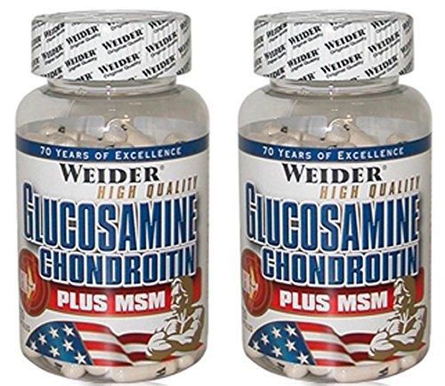 Weider (2er BUNDLE) / Glucosamine & Chondroitin MSM / 120 capsule - Nutrition