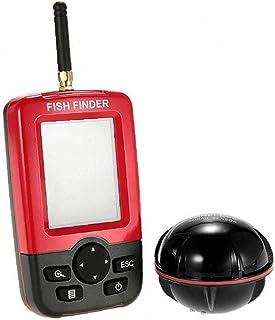 Profundidad del Sensor del Sonar Buscador De Los Pescados De Detección Portátil De Pantalla De Colores De Luz De Fondo Ina...