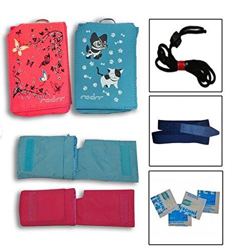 Insulinpumpe Universal Tasche Value Pack - 2 Taschen