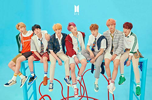 Tainsi BTS Love Yourself - Póster de 28 x 43 cm