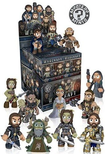 FUNKO Mystery MINIS: Warcraft Movie (One Figure per Purchase)