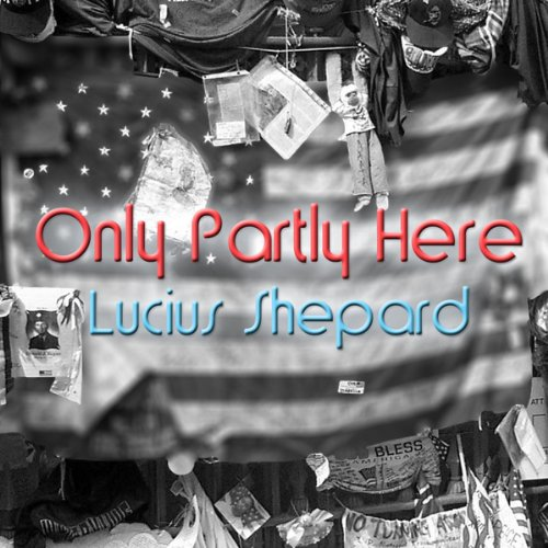 Only Partly Here audiobook cover art