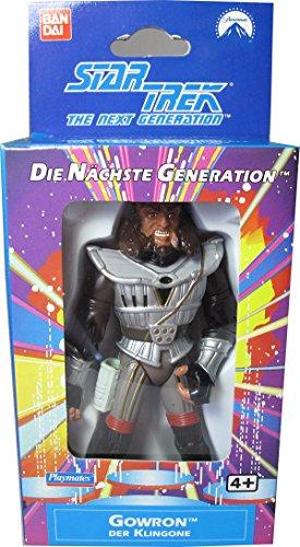 Star Trek The Next Generation Gowron der Klingone mit Star Trek Classic Aufkleber