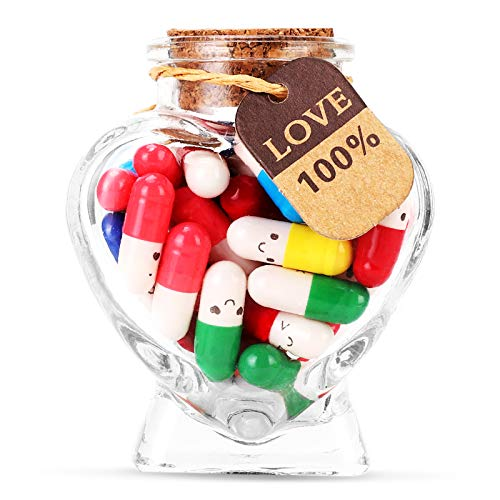 Capsule Letters Message in a Bottle - Cute Things Message Love Letter Gifts for Boyfriend /...