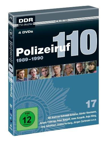 Polizeiruf 110 - Box 17: 1989-1990 (DDR TV-Archiv) (4 DVDs)