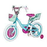 Kids Bike 12 14 16 Inch Boys Girls Bike with Training Wheels 18 20 Inch Kids Bicycle with Hand Brake and Kickstand for Toddlers and Children (14',Blue)