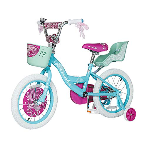 """Kids Bike 12 14 16 Inch Boys Girls Bike with Training Wheels 18 20 Inch Kids Bicycle with Hand Brake and Kickstand for Toddlers and Children (20"""",Blue)"""
