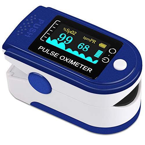 VPOW Oxímetro de pulso