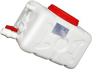 Seau en plastique blanc de qualité alimentaire, seau horizontal de qualité alimentaire Barils de réservoir horizontaux bla...