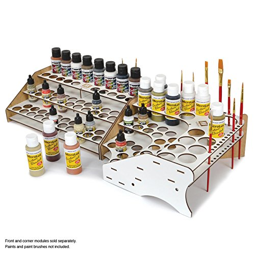 Acrylicos Vallejo Table Top Paint Holder, Corner Module