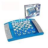 LEXIBOOK Ajedrez electrónico y luminoso con teclado sensitivo, juego de mesa, multiples niveles para principiantes y avanzados (LCG3000) , color/modelo surtido