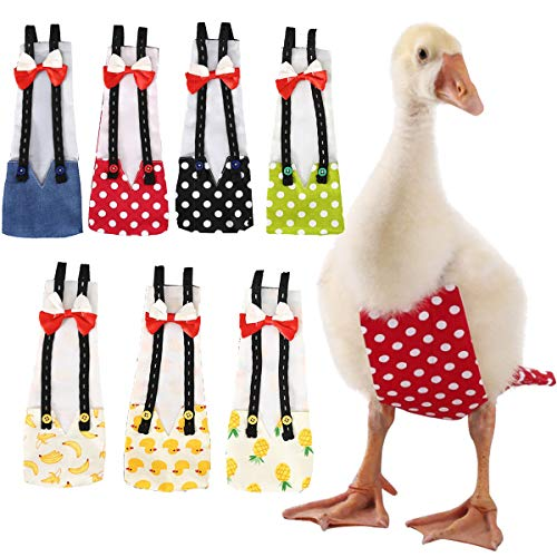Bonaweite Pet Cole Duck Diaper Nappy Fashionable Poultry Cloth for Goose Hen Chicken