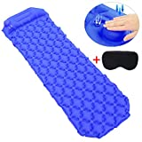 FunPa Camping Sleeping Pad, Air Mattress Air Sleeping Pad Portable Inflatable Hiking Air