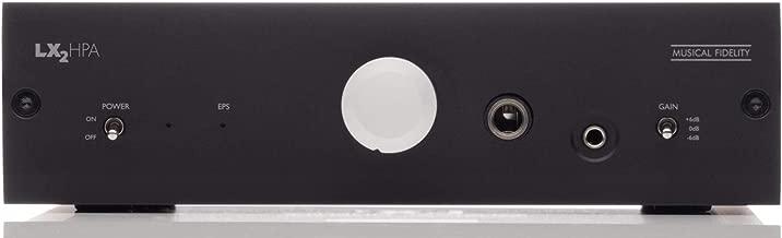 Musical Fidelity LX2-HPA Headphone Amplifier (Black)