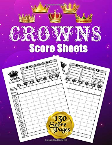 Compare Textbook Prices for Crowns Score Sheets: 130 Large Score Pads for Scorekeeping: Crowns Score Cards: Crowns Score Pads with Size 8.5 x 11 inches  ISBN 9798586610768 by Essentials, Scorebooks