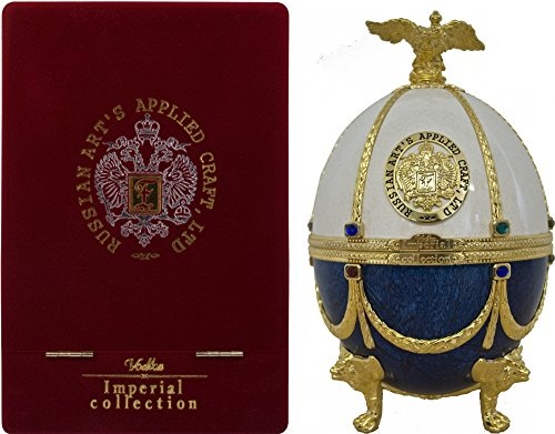 Imperial Collection Wodka Fabergé Ei Weiß-Blau (1 x 0.7 l) Titelbild