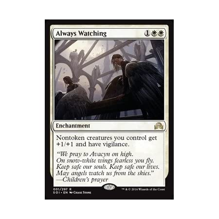Magic The Gathering - Always Watching (001/297) - Shadows Over Innistrad