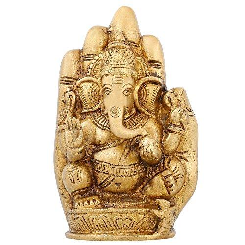 Shalinindia Dieu Figurine Ganesha Statue, Height-6 Pouce, Length-4 inch Width-2 Pouce