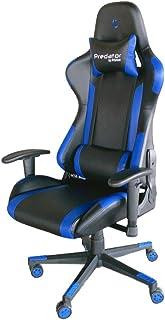 comprar comparacion PRIXTON Predator Gaming Chair 10B - Silla Gaming/Silla Gamer con Altura y Reposabrazos Ajustables, Reclinable 180º, Fabric...