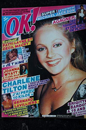 OK ! âge tendre 385 BERNARD LAVILLIERS CHARLENE TILTON MICHAEL JACKSON Brigitte BARDOT
