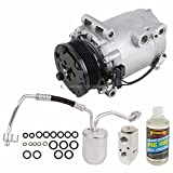Saturn Vue A/C Compressors & Components - For Saturn Vue 2002 2003 AC Compressor w/A/C Repair Kit - BuyAutoParts 60-80359RK New
