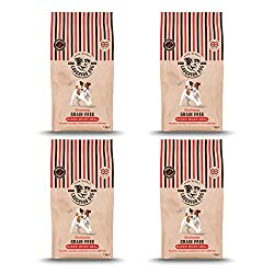 GRAIN FREE - No added grains, cereals, wheat, gluten, soya or dairy products. Single species recipes: 100% lamb. 100% chicken. 100% duck HIGH IN PROTEIN - Our Gloriously Grain Free Multi-Packs are rich in nutritious dog happy ingredients. Made with i...
