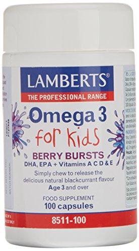 Lamberts Omega 3 for Kids - 100 Cápsulas
