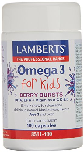 Lamberts Omega 3 for Kids - 100 Cápsulas