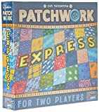 Lookout Games Patchwork Express Board Game | Strategy Game | Puzzle Game | Travel Game | Family Board Game for Kids and Adults | Ages 6 and up | 2 Players | Average Playtime 20 Minutes | Made
