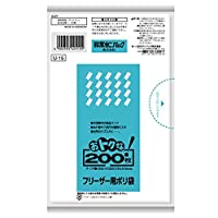 【ケース販売】日本サニパック おトクな!フリーザー用ポリ袋 半透明 U-15