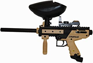 Tippmann Cronus CQB Paintball Gun with Electronic Red Dot Sight and Hopper