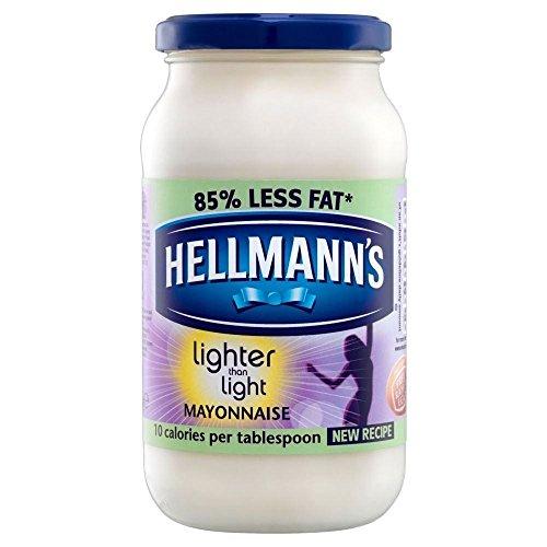Hellmann's Lighter Than Light Mayonnaise (400g) - Pack of 2