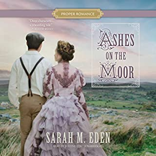 Ashes on the Moor audiobook cover art