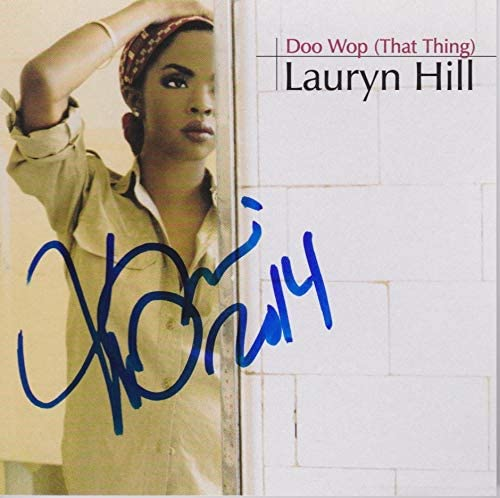 Lauryn Hill signed Doo Wop That cd Quantity limited Outlet SALE Thing single