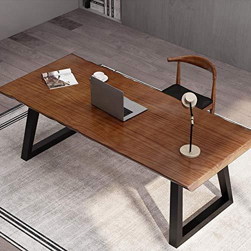Greensen Svarta möbelben A-ram tub bordsben med skruvar kraftiga metallbordsben för gör-det-själv modern skåp bänk TV-stativ, 27 x 28 tum (2 st)