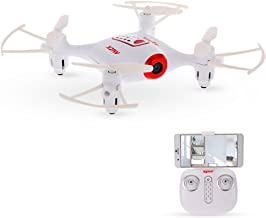 Goolsky Syma X21W Drone with WiFi FPV 720P Camera 4GB SD Card Drone Height Hold Headless Mode Altitude Control RC Quadcopter