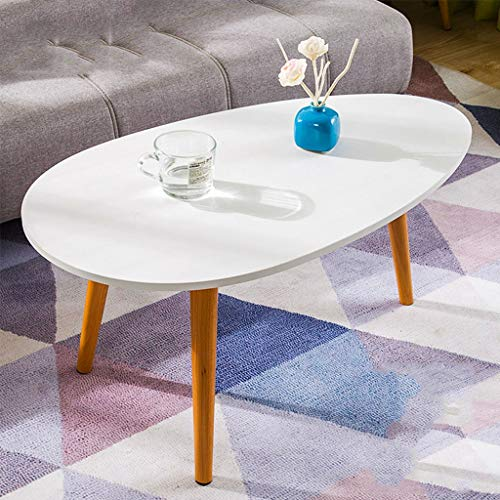 Coffee Table Solid Wood For Living Room,modern Simple Small Table Easy...