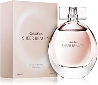 Calvin Klein Perfume  - Calvin Klein Sheer Beauty - perfumes for women - Eau de Toilette, 100ml