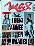 MAX [No 65] du 01/12/1994 - LE CALENDRIER 1995 - TABATHA CASH.