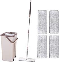 YTXTT Kit de ferramentas de limpeza de esfregões de feiticeiro de poeira com azulejo giratório de 360° para limpeza de pis...