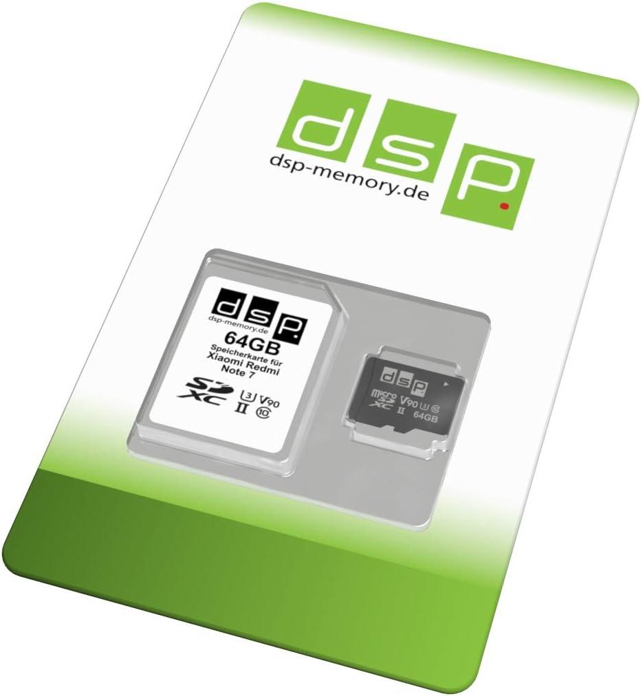 Dsp Memory 128gb Speicherkarte A1 V30 U3 Für Xiaomi Redmi Note 7