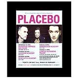 Music Ad World Placebo Mini-Poster, Motiv UK Tour April