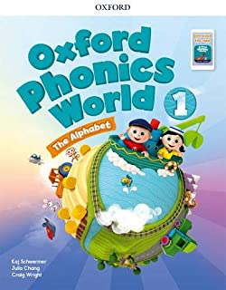 Oxford Phonics World: Level 1: Student Book with App Pack 1