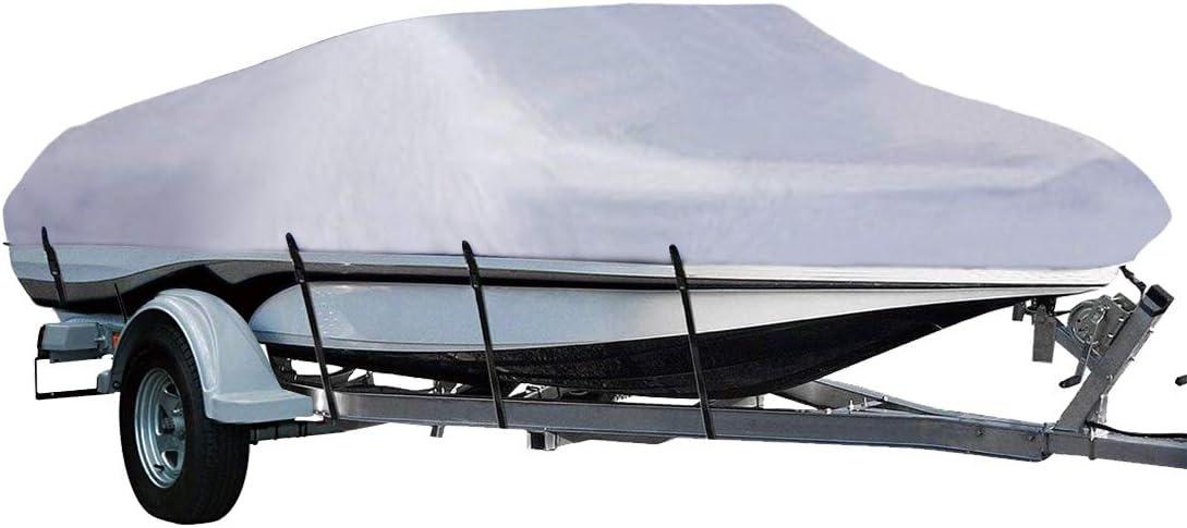 LEADALLWAY Boat Cover 210D Polyester Cover Marine Grade Trailera