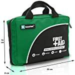 General Medi 160 Piece Compact First Aid Kit Bag - Including Cold (Ice) Pack, Emergency Blanket, Moleskin Pad,Perfect… 5