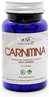 Acetil L Carnitina Pura Brucia Grassi 1200mg Die Dimagrante Forte Potente   Integratore Fat Burner Aumento Massa Muscolare Forza Definizione   Antiossidante Altodosato