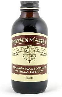 Madagascar Bourbon Vanille-Extrakt von Nielsen Massey 118 ml - zum Backen & Verfeinern von Speisen - 100% reines, natürliches Vanille-Extrakt - cremig, süß und samtig im Geschmack